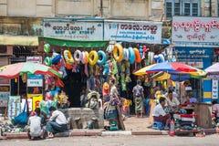 Myanmar życie Zdjęcia Stock