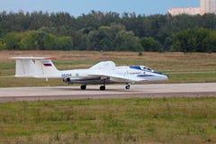 Myasishchev M-55 (nom d'enregistrement de l'OTAN : Mystique) Images stock