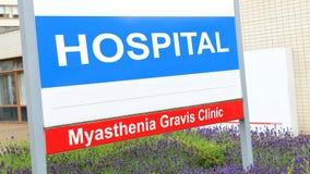 Myasthenia Gravis Lizenzfreies Stockfoto
