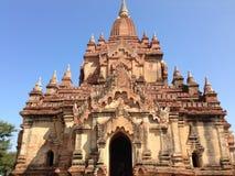 Myauk Guni temple stock image