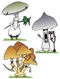 Mycète illustration stock