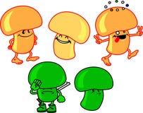 Mycètes Image libre de droits