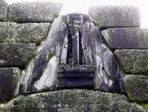 Mycenae狮子门,希腊 免版税库存照片
