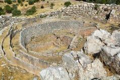 Mycenae, Греция стоковые фото