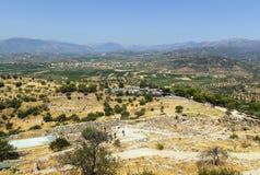 Mycenae, Греция стоковое фото rf