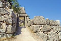 Mycenae, Греция стоковое фото