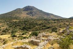 Mycenae, Греция стоковые изображения rf