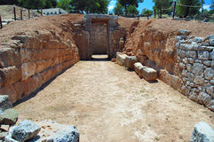 Mycenae Lizenzfreie Stockfotos
