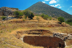 Mycenae Stock Photography