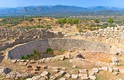 mycenae stock foto