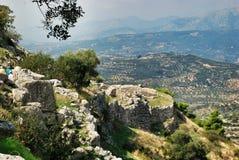 mycenae royalty-vrije stock fotografie