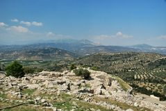 mycenae Fotografia de Stock Royalty Free