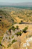 Mycenae. The view from the acropolis, Greece Stock Image