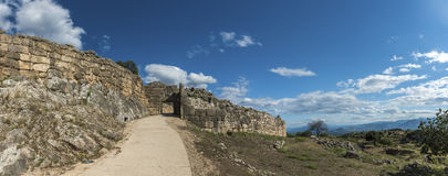 Mycenae. Acropolis of Mycenae`s, Peloponese, Greece Stock Photography
