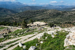 Mycenae, archaeological place in Greece Royalty Free Stock Image