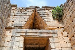 Mycenae, Greece Royalty Free Stock Photos
