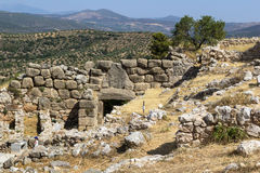 Mycenae, Greece Royalty Free Stock Photos