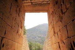 Mycenae, Griechenland lizenzfreie stockfotografie