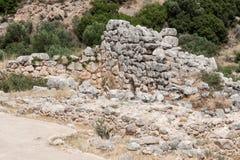 Mycenae Ruins Greece Stock Photo