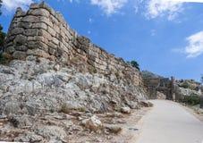 Mycenae Ruins Greece Royalty Free Stock Photo