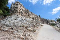 Mycenae Ruins Greece Stock Image