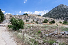Mycenae Ruins Greece Royalty Free Stock Image