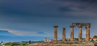 Mycenae ruiny Zdjęcia Royalty Free