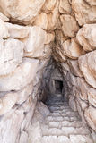 Mycenaeruïnes Griekenland Stock Afbeeldingen