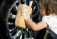 mycie samochodów Zdjęcia Stock