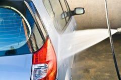 mycie samochodów Fotografia Royalty Free