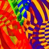 Mycket abstrakt modell Arkivfoton