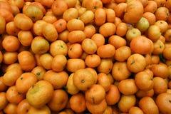 Mycket av apelsinen Arkivbilder