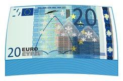 Mycket blåa pengar Fotografering för Bildbyråer