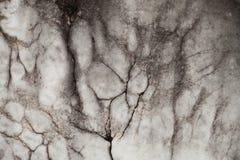 Mycket gamla grå färger och svart marmortextur Arkivbilder