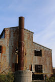 mycket gammal abbandoned fabrik Arkivbilder