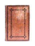 Mycket gammal bok från det 19th århundradet royaltyfri fotografi