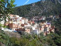 Mycket gammal moroccan stad royaltyfria bilder