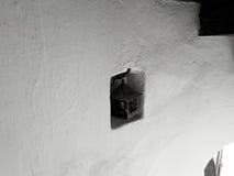 Mycket gammal och mycket stilfull retro lampa Arkivbilder