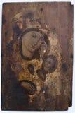 Mycket gammal ortodox symbol Fotografering för Bildbyråer