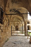 mycket gammalt fängelse i Jerusalem royaltyfri foto