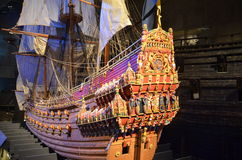 Mycket gammalt skepp royaltyfri bild