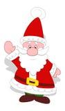 Mycket gulliga Santa Claus Vector Arkivbilder