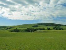 Mycket härlig bild av kullarna arkivfoton