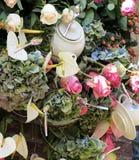 Mycket härlig blommaordning Arkivbilder