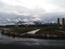 Mycket härligt berg Arkivfoton