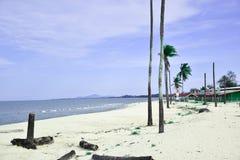 Mycket härligt hav i Pattani, Thailand royaltyfri bild