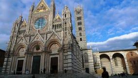 Mycket härlig kyrka i Italien Arkivfoto
