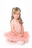 mycket liten ballerina royaltyfria foton