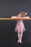 mycket liten ballerina arkivbilder