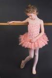 mycket liten ballerina Arkivfoton